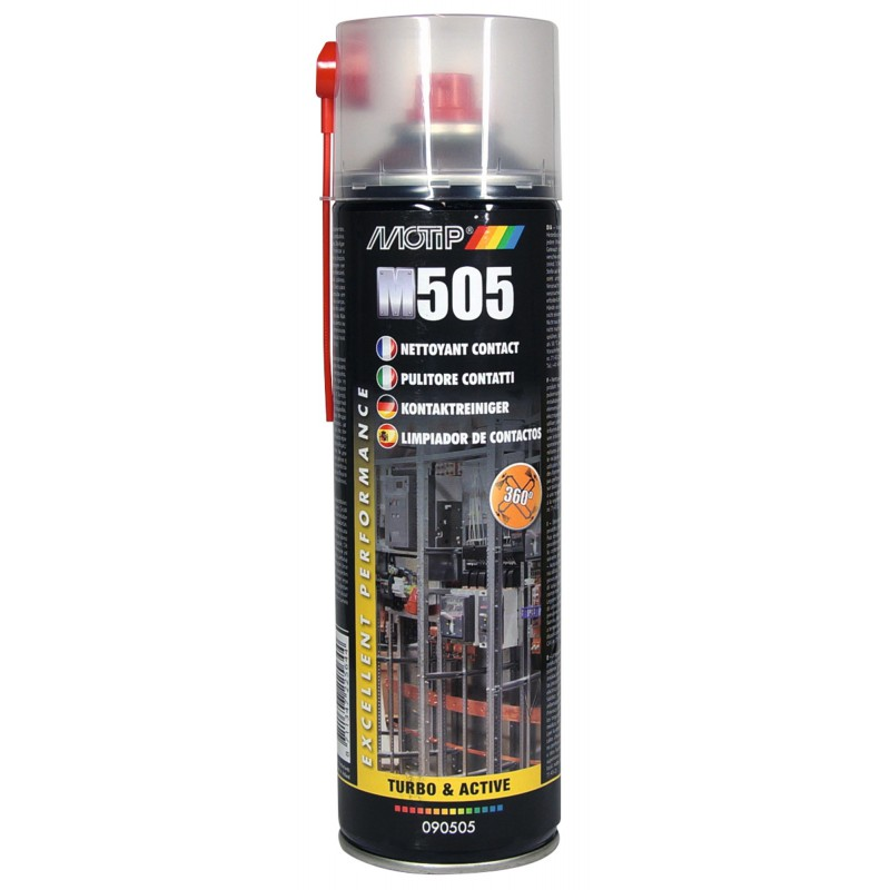 Nettoyant de contact Motip - 500 ml - Incolore