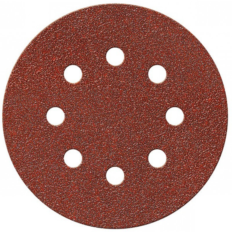 Disque auto-agrippant 8 trous SCID - Grain 120 - Diamètre 115 mm - Vendu par 5