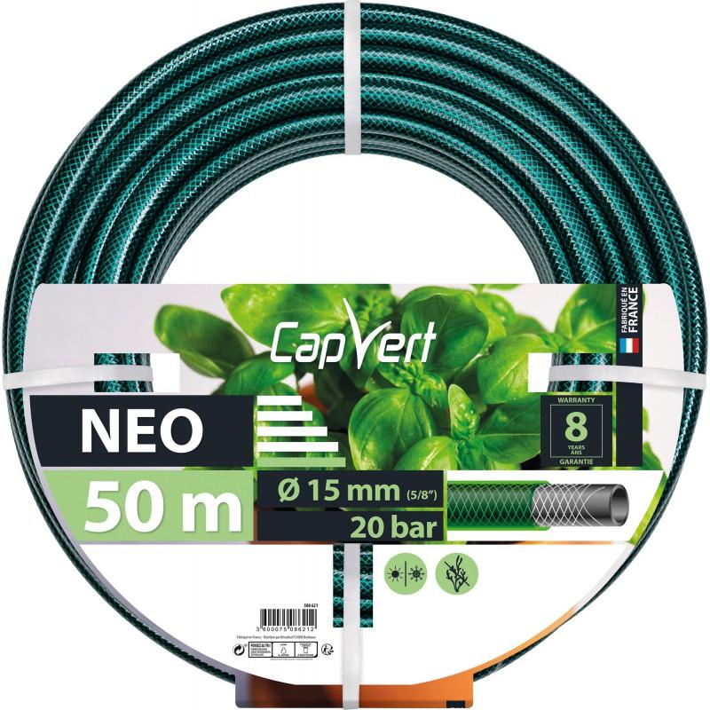 Tuyau d'arrosage Néo Cap Vert - Diamètre 15 mm - Longueur 50 m