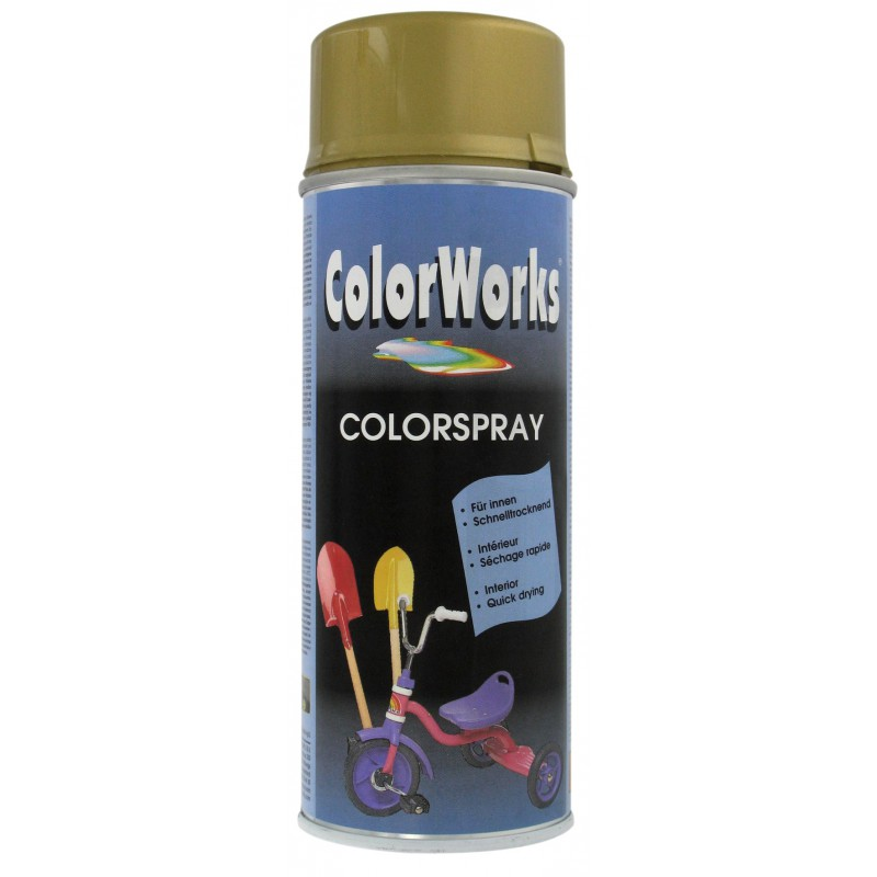 Peinture brillante Colorworks - Or