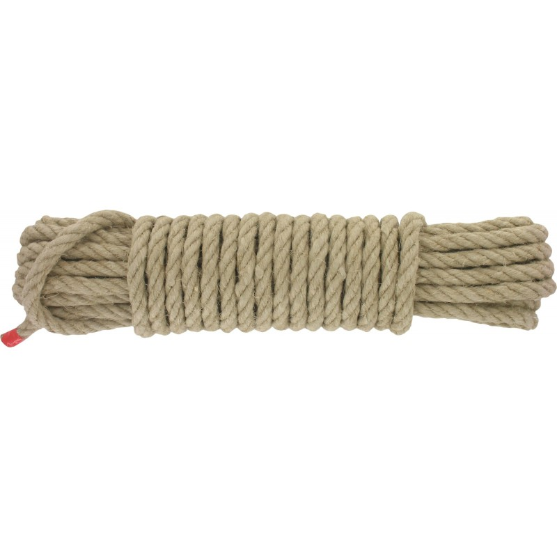Cordage chanvre Corderies Tournonaises - Longueur 10 m - Diamètre 12 mm