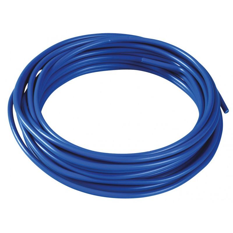 Fil H07 V-K 1,5 mm² Dhome - Bleu - Longueur 10 m