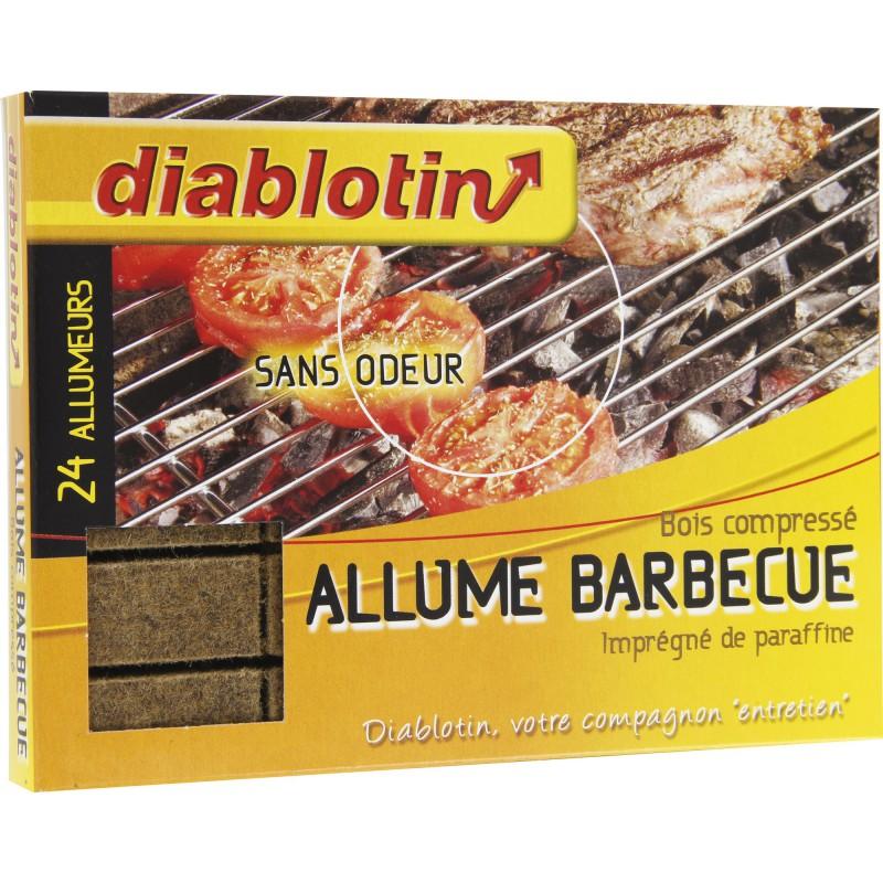 Allume barbecue bloc Diablotin - Vendu par 24