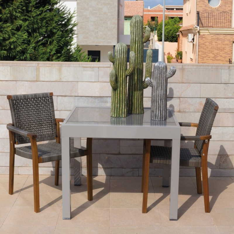 Table Exterieur Extensible. Best Table De Jardin Extensible ...