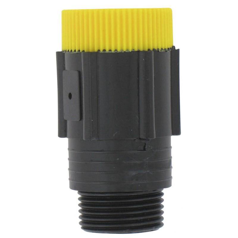 Régulateur de pression Cap Vert - Filetage Mâle 20 x 27 - Femelle 20 x 27 mm