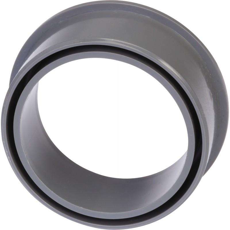 Tampon de réduction 1 piquage Mâle / Femelle Girpi - Diamètre 100 - 80 mm