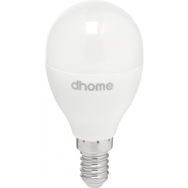 Ampoule LED sphérique E14 dhome - 806 Lumens - 8 W - 2700 K
