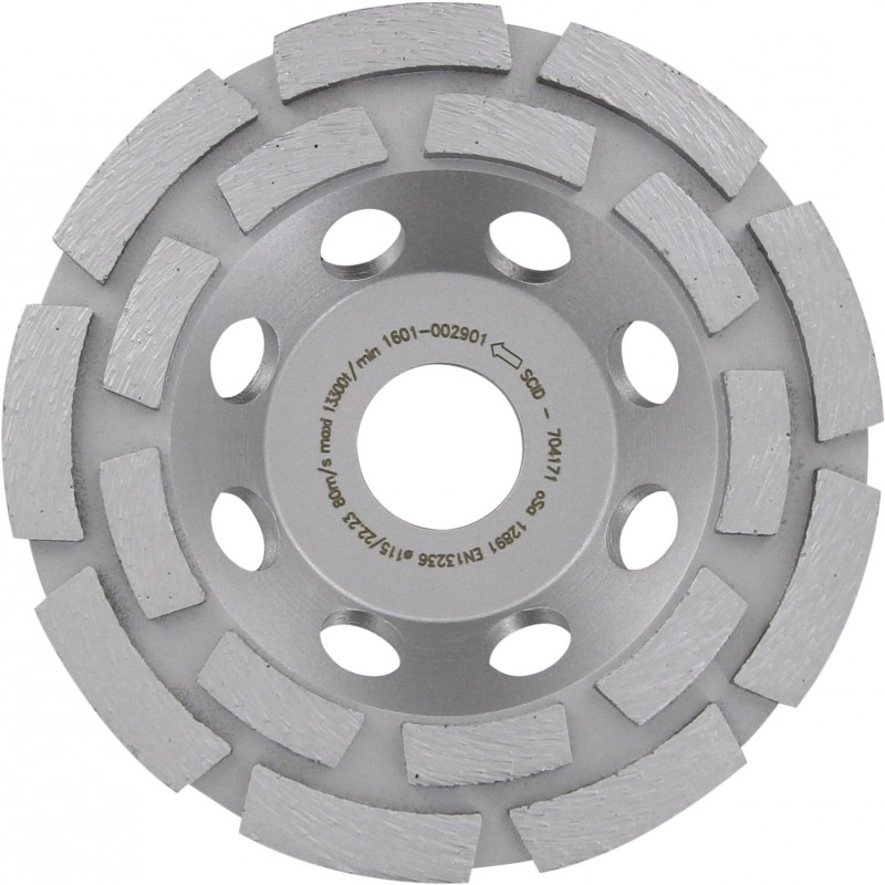 Disque diamanté à polir SCID - Diamètre 115 mm