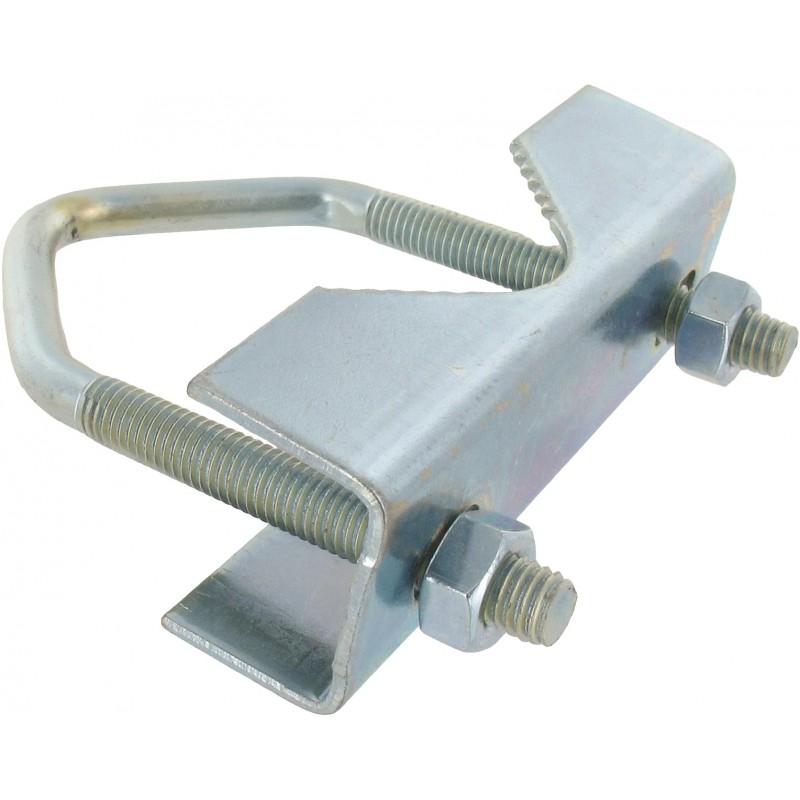 Bride d'étrier d'antenne complète de fixation Metronic - Entraxe 60 mm