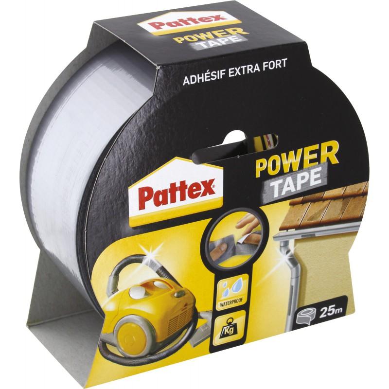 Adhésif super puissant Power tape Power Tape - Gris - Longueur 25 m