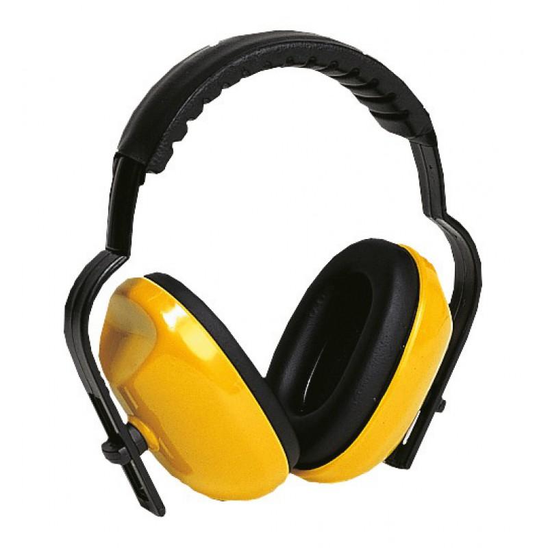 Coquille anti bruit arceau molletonné - SNR 25 dB