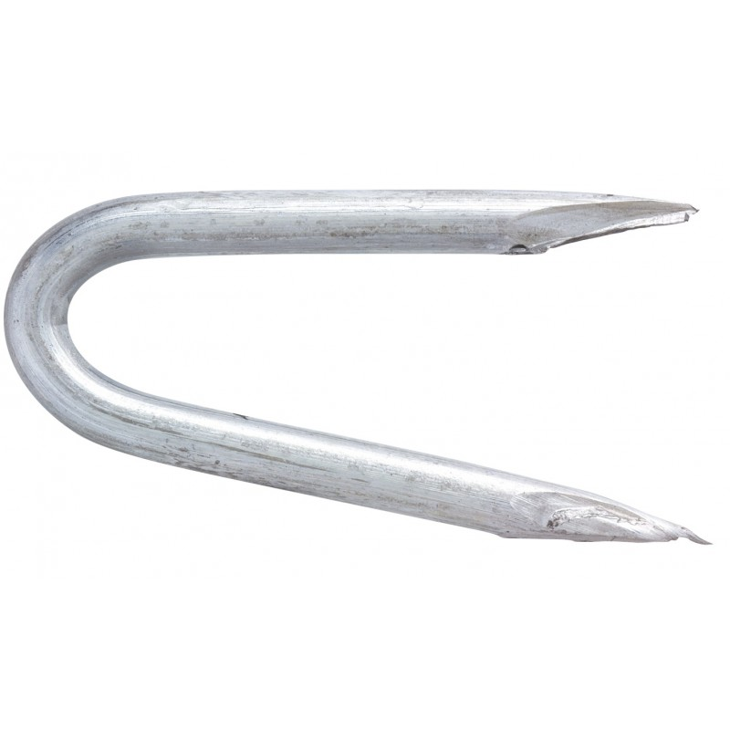 Crampillon acier galvanisé TE. Pointes - Longueur 27 mm - Diamètre 2,7 mm - 1 kg