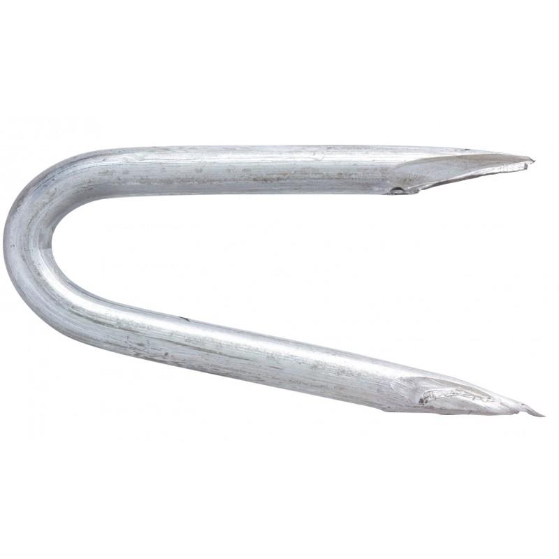 Crampillon acier galvanisé TE. Pointes - Longueur 50 mm - Diamètre 5 mm - 5 kg