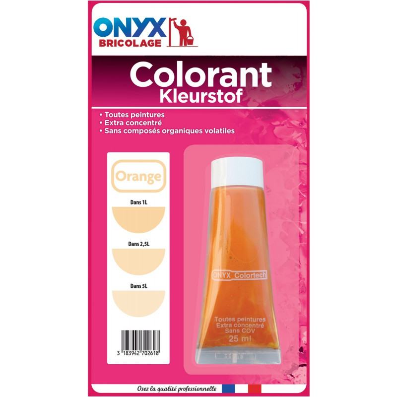 Colorant universel 25 ml Onyx - Orange