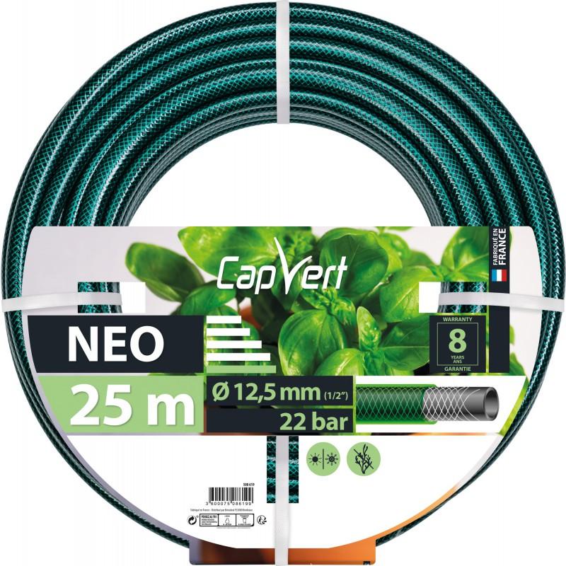 Tuyau d'arrosage Néo Cap Vert - Diamètre 12,5 mm - Longueur 25 m
