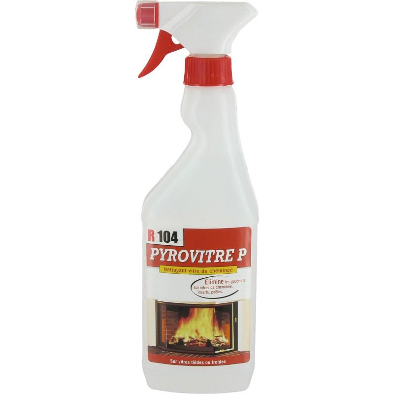 Nettoyant vitre d'insert concentré Pyrovitre - Pulvérisateur - 500 ml