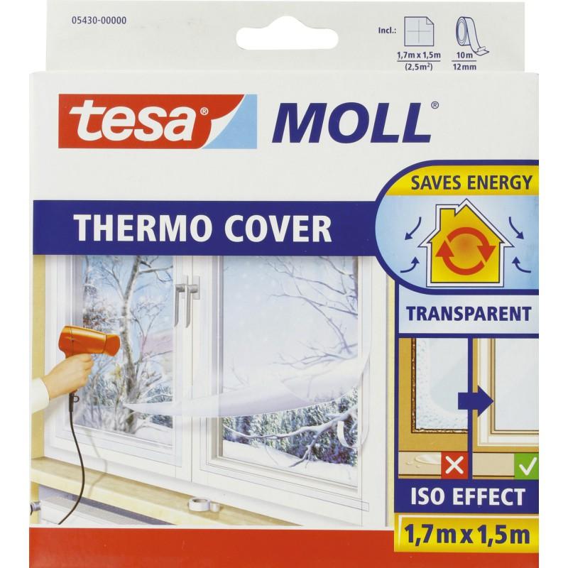 Film de survitrage Thermo Cover Tesa - Longueur 1,7 m - Largeur 1,5 m