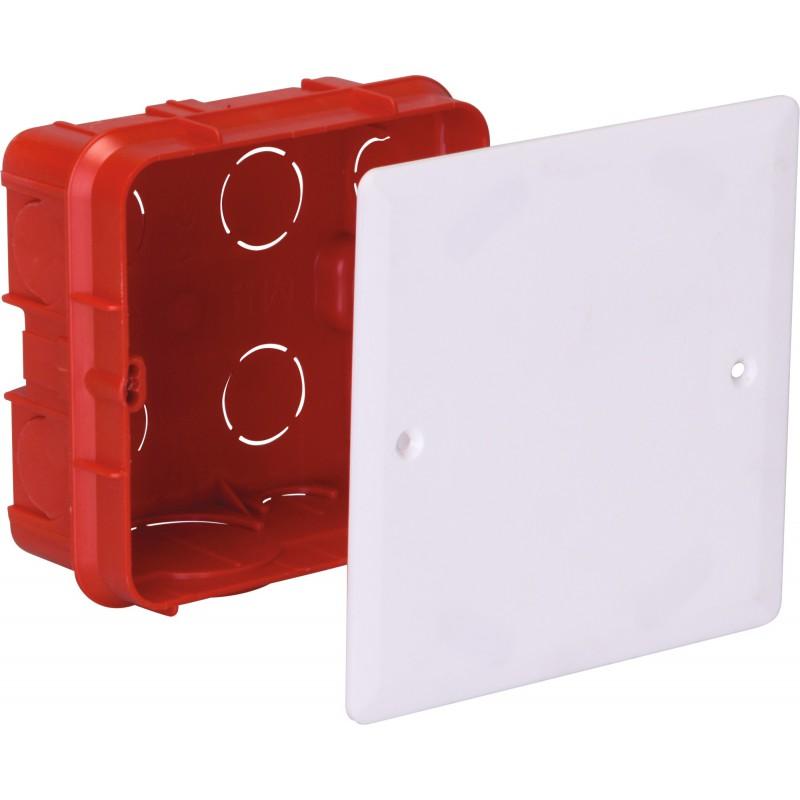 Boîte à encastrer pour mur plein Legrand - Dimensions 140 mm x 140 mm