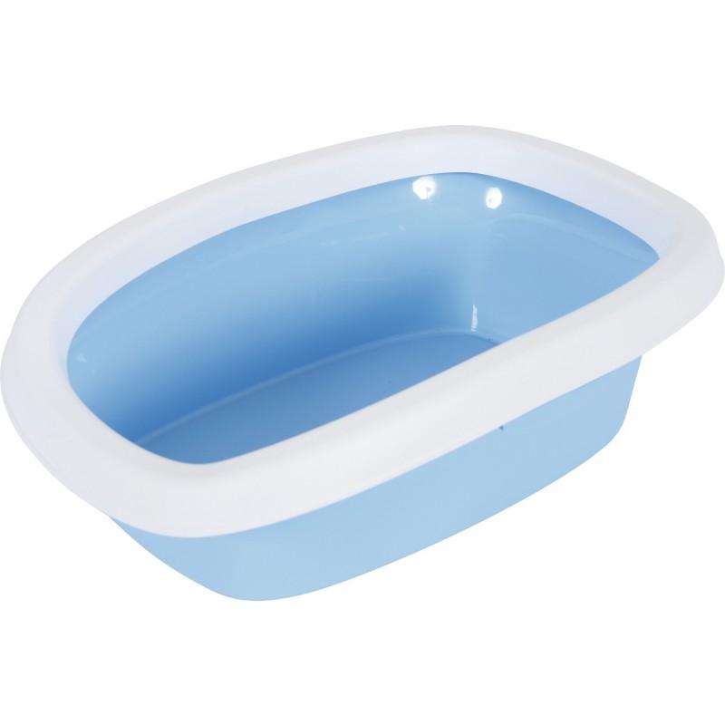 Bac à litière chat Zolux - Gris bleu - Contenance 20 l