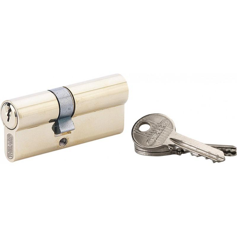 cylindre asym trique laiton pvm dimensions 30 x 40 mm de cylindre de serrure. Black Bedroom Furniture Sets. Home Design Ideas