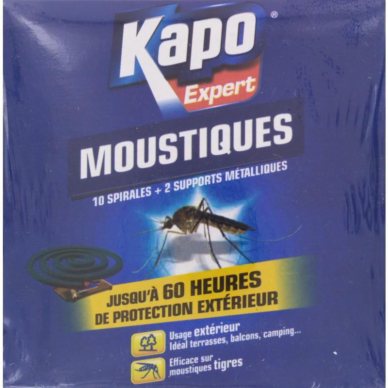 Moustiques spirale Kapo Expert - 10 spirales