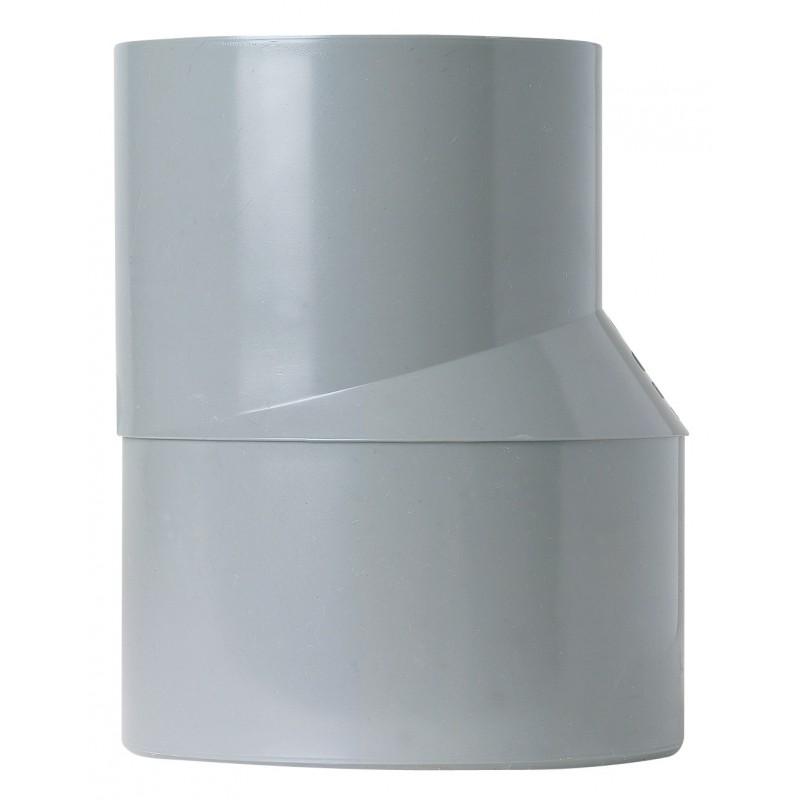 Réduction extérieure excentrée Mâle / Femelle Girpi - Diamètre 100 - 40 mm