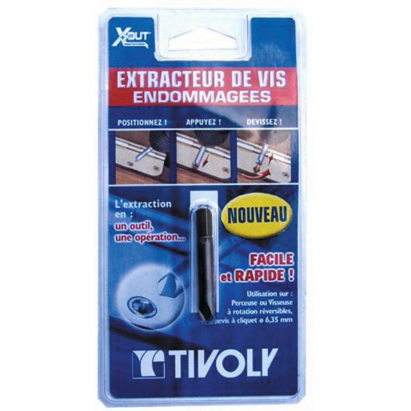 Extracteur de vis Tivoly - 1 pièce