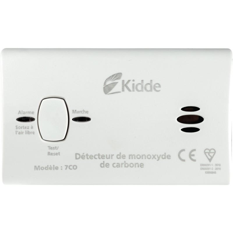 Détecteur de monoxyde de carbone Kidde