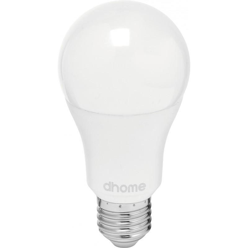 Ampoule LED standard E27 dhome - 1055 Lumens - 11 W - 2700 K - Vendu par 10
