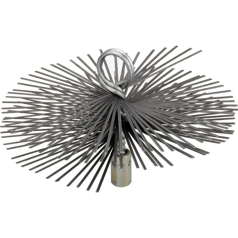 Hérisson rond acier plat SCID - Diamètre 125 mm