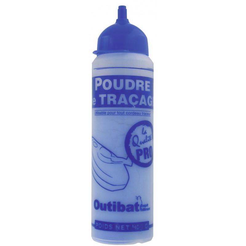 Biberon de poudre bleue Outibat - 400 g