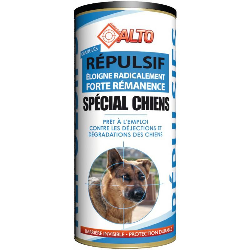 Répulsif granulés spécial chien prêt à l'emploi Alto - Boîte 400 g