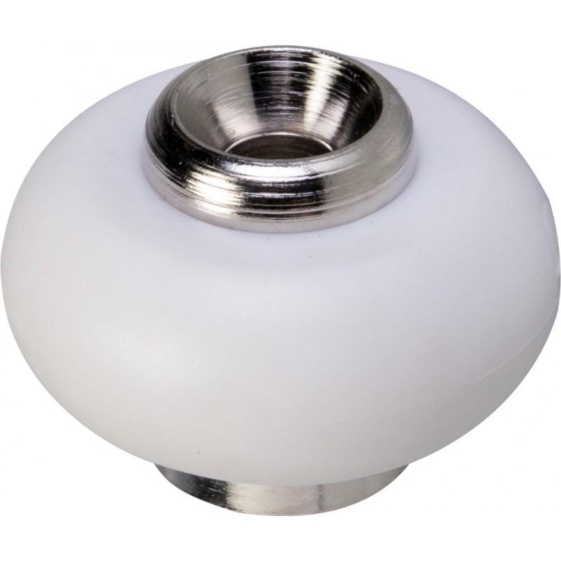 Butée fixation sol laiton / caoutchouc Shepherd - Diamètre 30 mm - Hauteur 23 mm - Vendu par 1