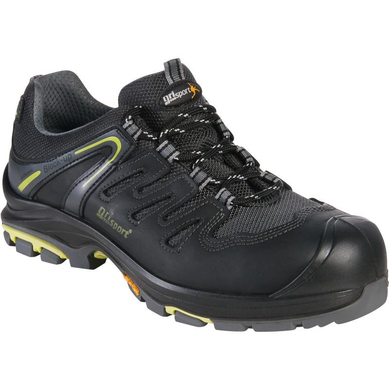 Chaussure de sécurité basse noire - Hiker - Grisport - 42