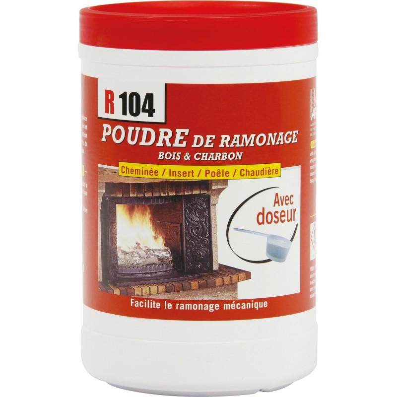 Ramoneur R104 - Poudre de ramonage - 900 g