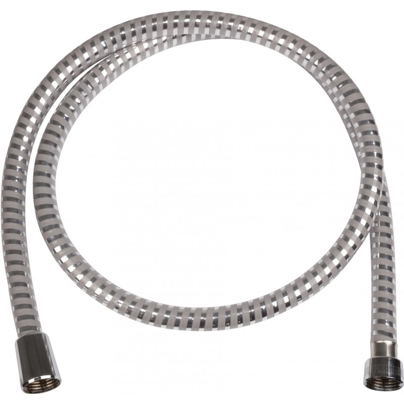 Flexible de douche chromé anti-torsion - 1,6 m - Metaflex - Hansgrohe