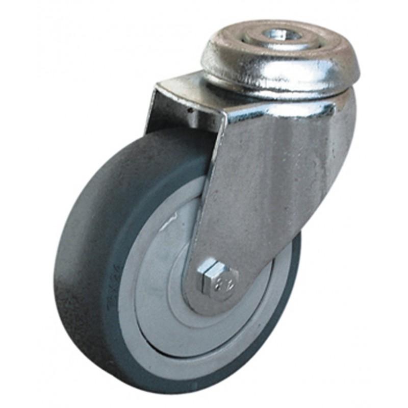 Roulette Uniroll à oeil pivotante Guitel point M - Diamètre 50 mm