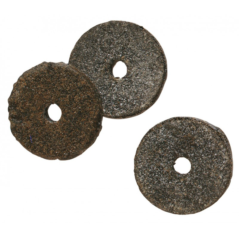 Rondelle feutre bitumé - Diamètre extérieur 20 mm - Intérieur 4 mm - Vendu par 100