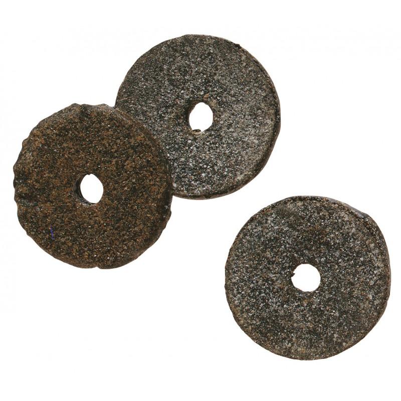 Rondelle feutre bitumé - Diamètre extérieur 20 mm - Intérieur 6 mm - Vendu par 100