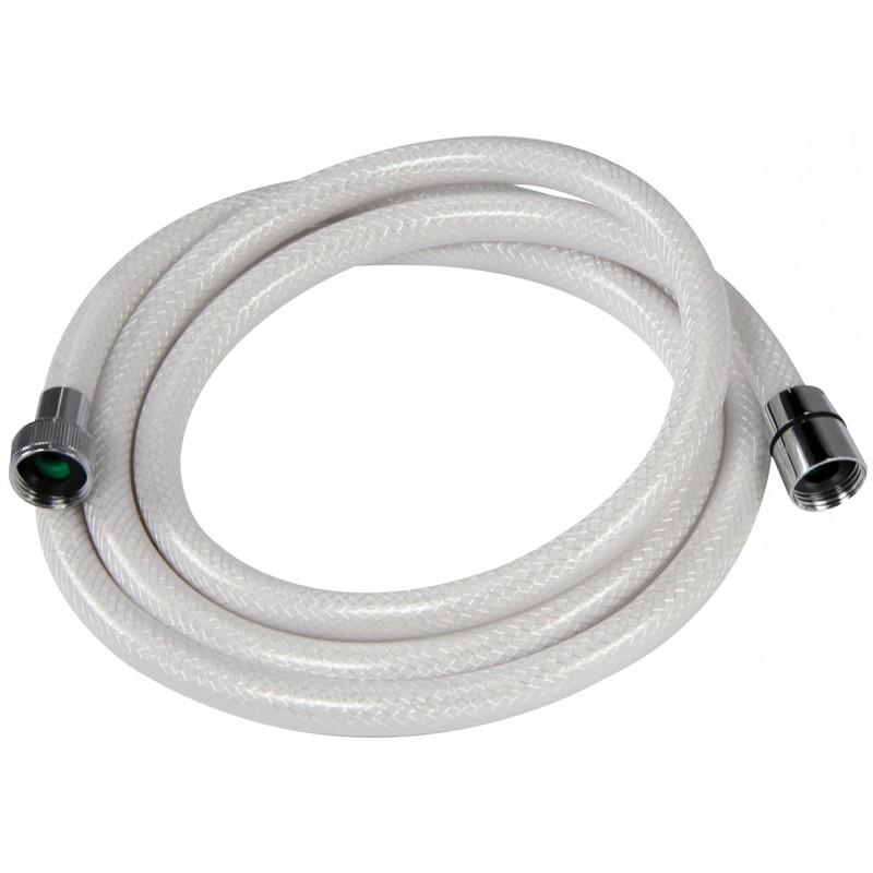 Flexible PVC tressé blanc Neptune - Longueur 2 m