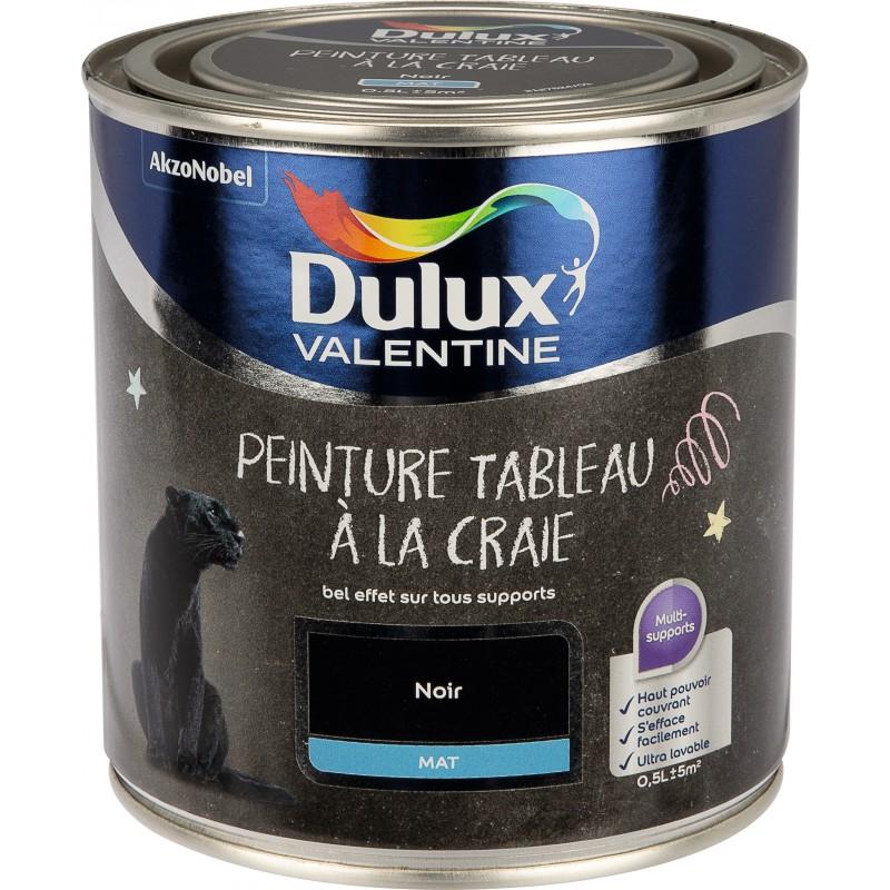 Peinture à tableau DULUX - Noir - 500 ml