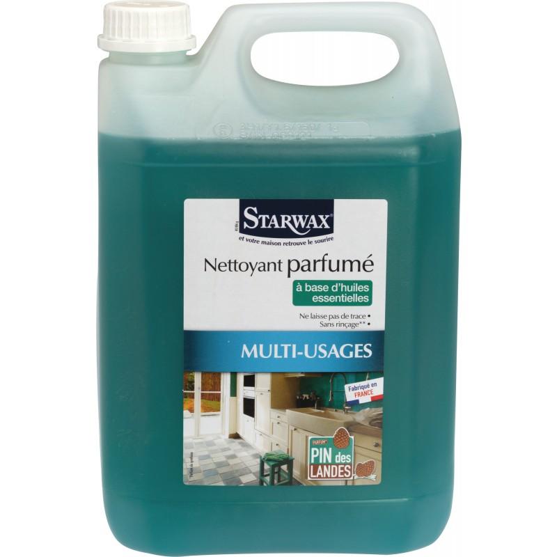 Nettoyant parfumé pin des Landes Starwax - Bidon 5 l