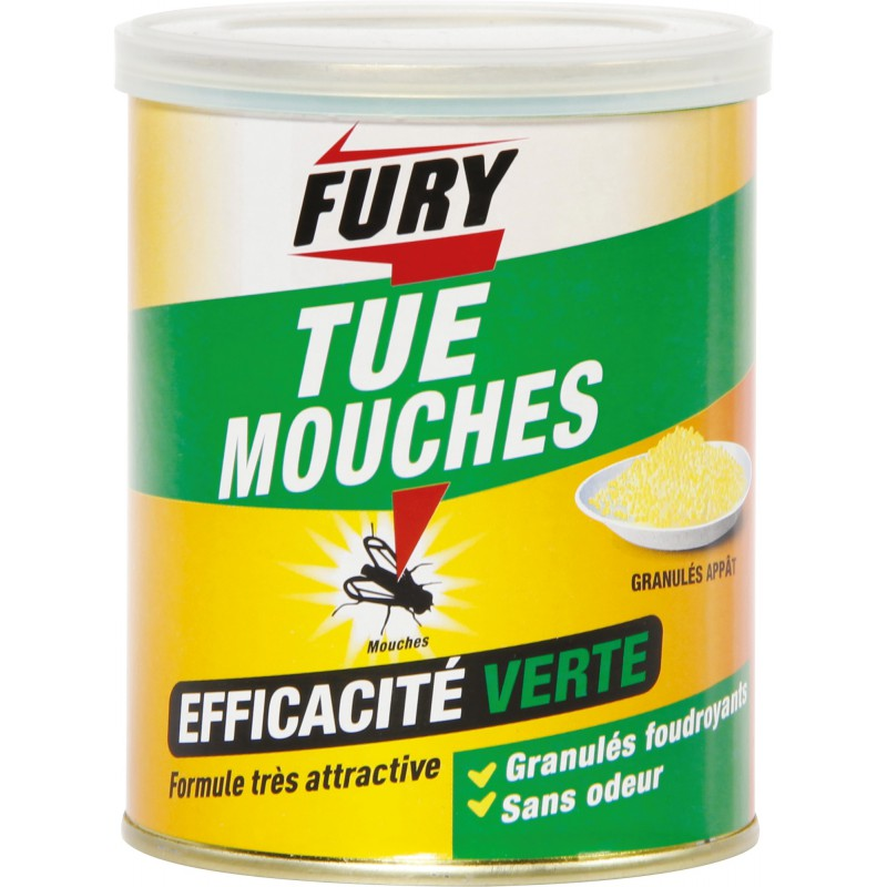mouches fury granul s de insecticide mouches 1072085 mon magasin g n ral. Black Bedroom Furniture Sets. Home Design Ideas