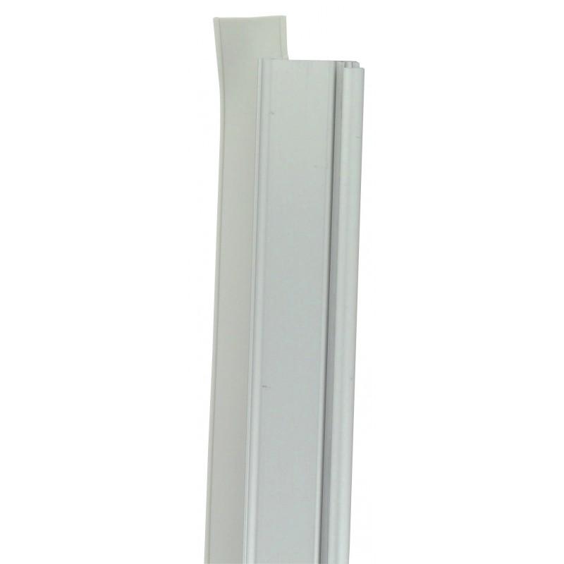 Bas de porte aluminium mobile PVM - Longueur 0,93 m