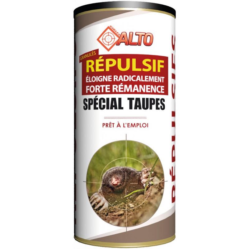 Répulsif granulés spécial taupe prêt à l'emploi Alto - Poids 400 g