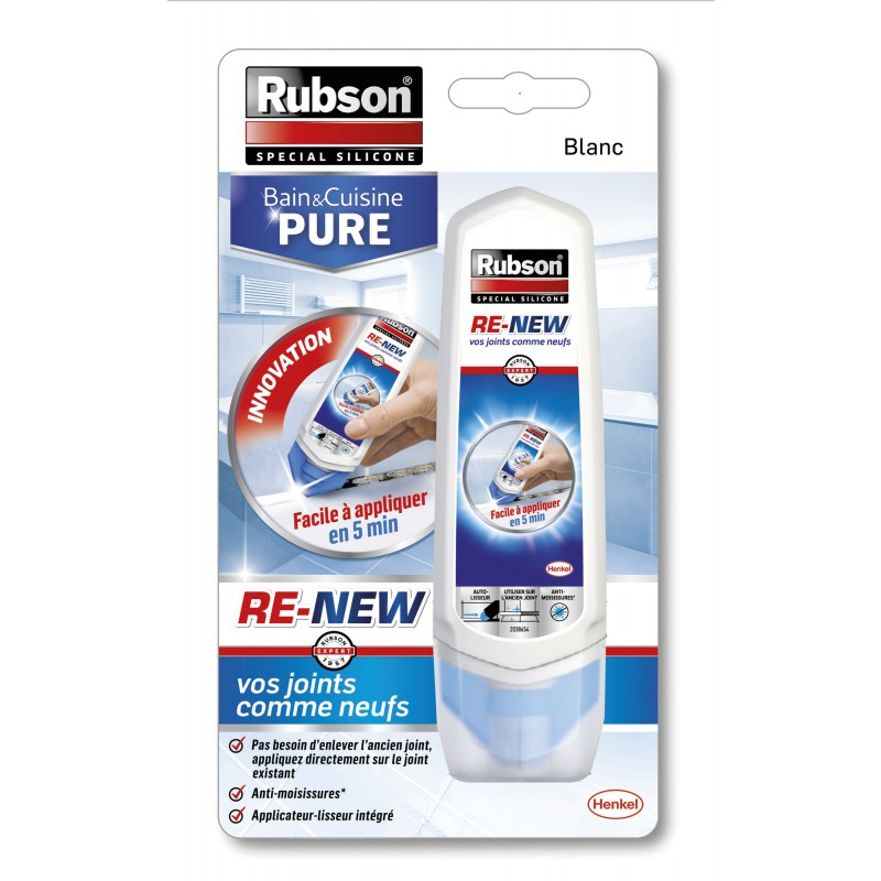 Mastic Re-New bain cuisine pure Rubson - 100 ml