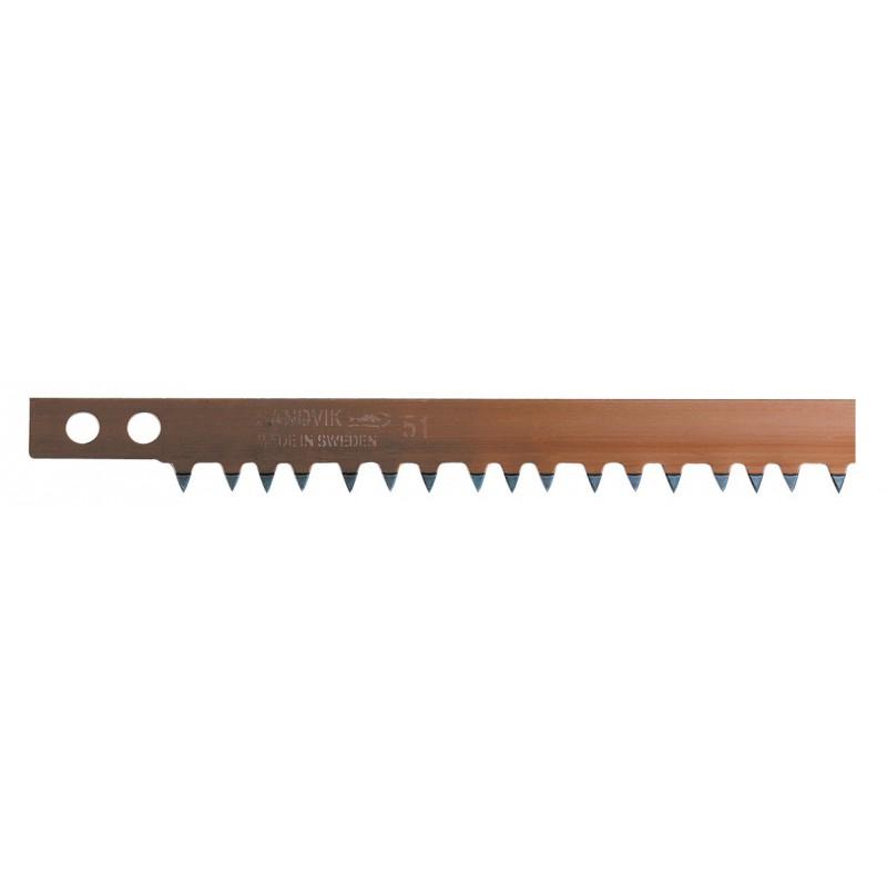 Lame de scie à bûches acier suédois Bahco - Longueur 81 cm