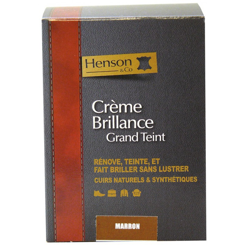 Crème brillance Grand Teint Gerlon Henson -50 ml - Marron
