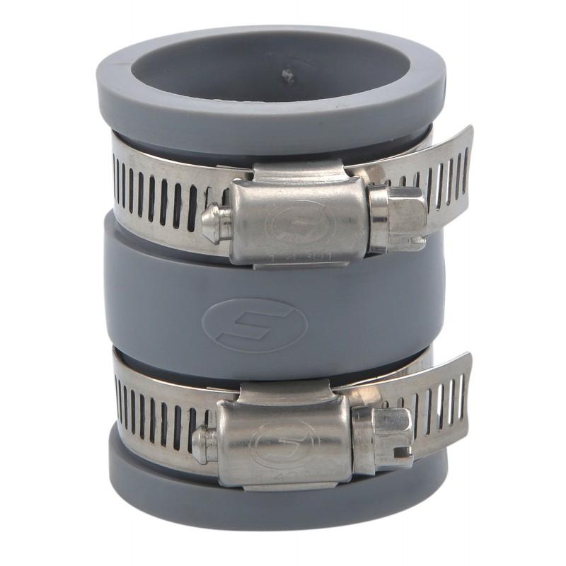 Manchette souple multi-matériaux à joint Girpi - Femelle / Femelle - Diamètre 32 mm