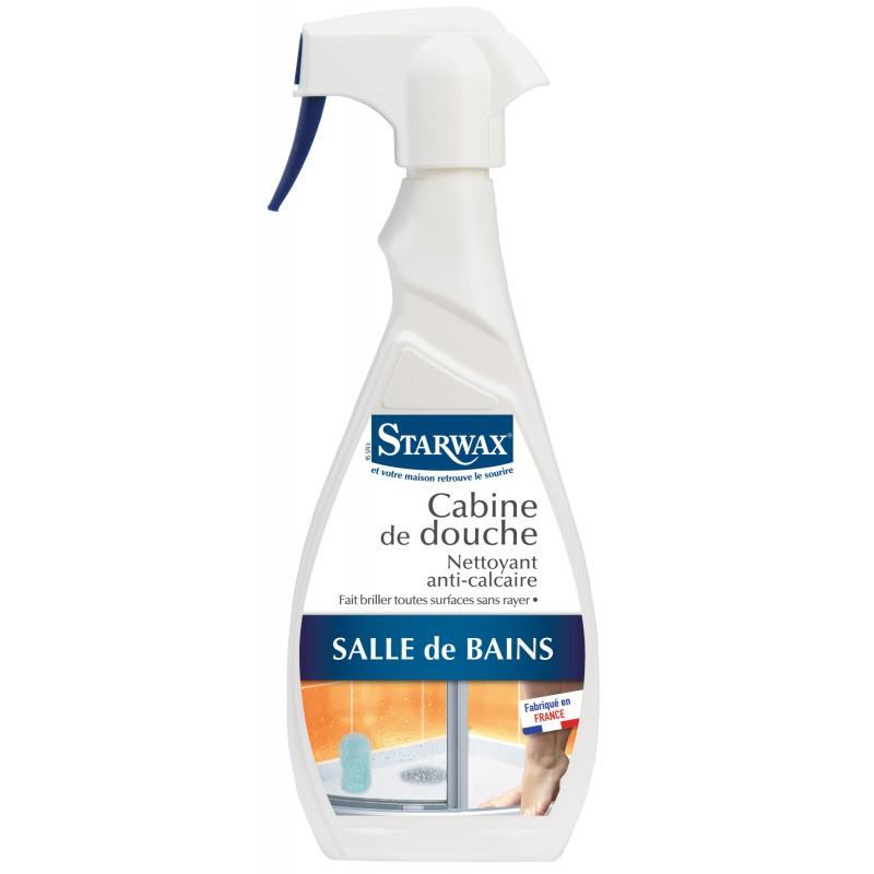 Nettoyant anti-calcaire cabine de douche Starwax - 500 ml